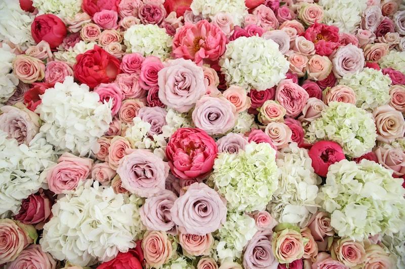 GRO Designs, Floral Wall, events, dallas
