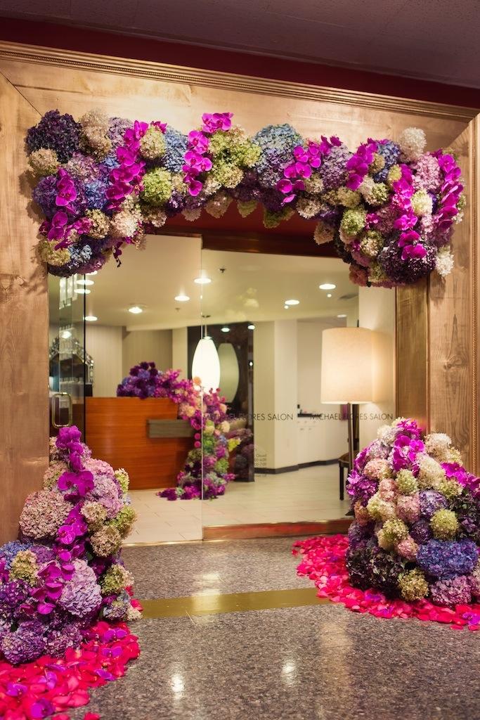 GRO Designs, Dallas event. floral, fashion week. gro floral